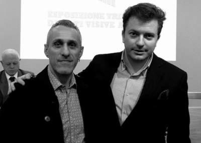 Con Daniele Radini Tedeschi
