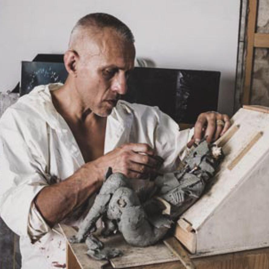 Modellazione di un prototipo in argilla
