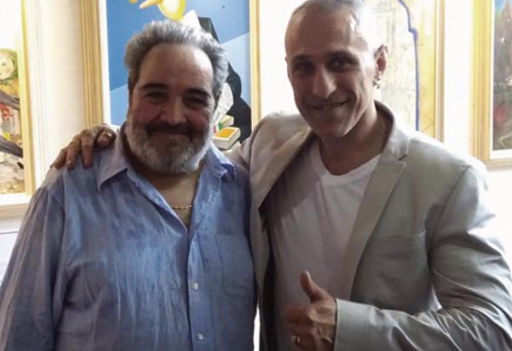 Pescia 2016, con il paroliere Beppe Dati alla Fondazione Carlo Collodi.